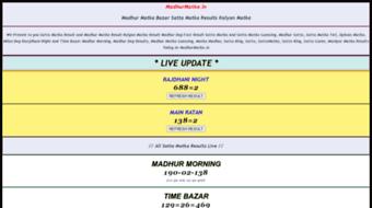 Sattamatka Manipur at Web Horde